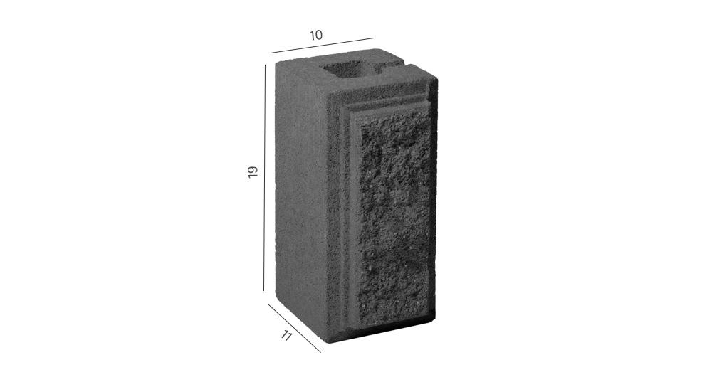 Колотий блок четвертина розміри