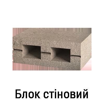 Стіновий блок купити